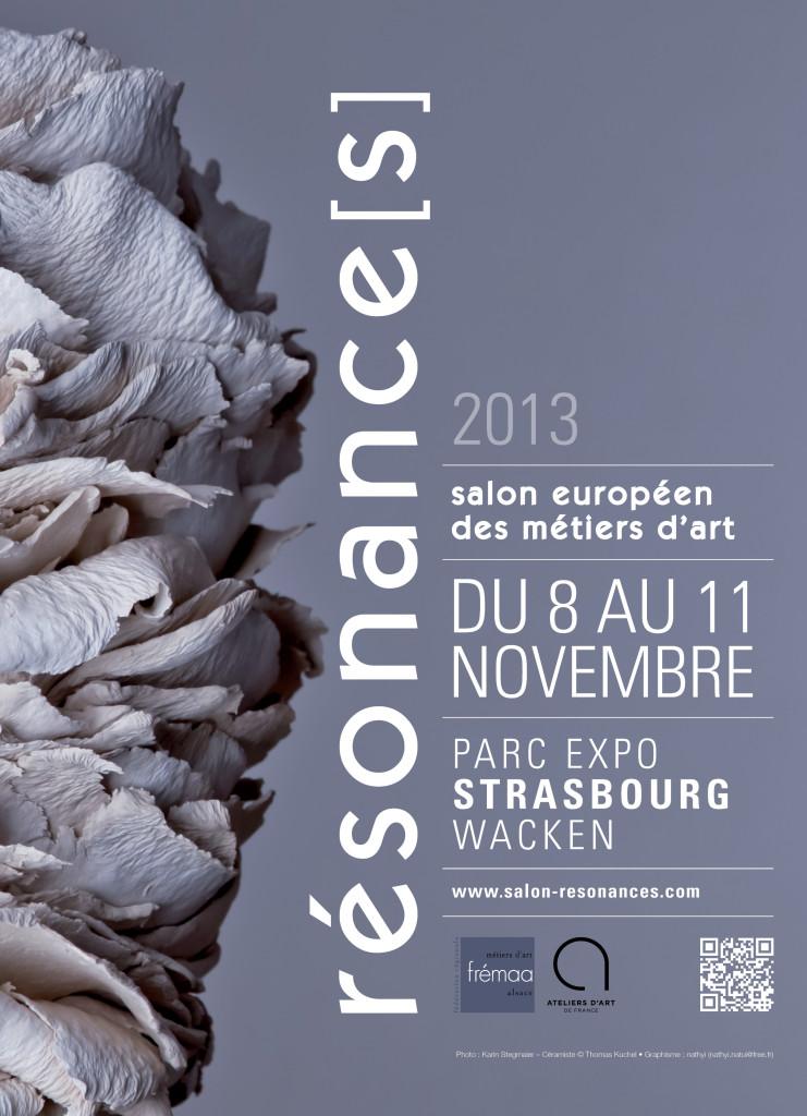 David Enjalbert présent au Salon Resonance avec les derniere Chaises Alsaciennes STUHL en Alu